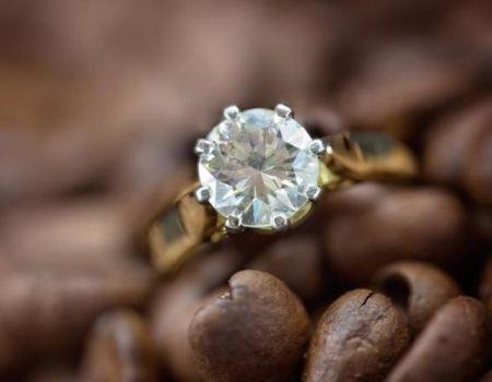 טבעת אירוסין סוליטר מאייב תכשיטים חנות תכשיטים