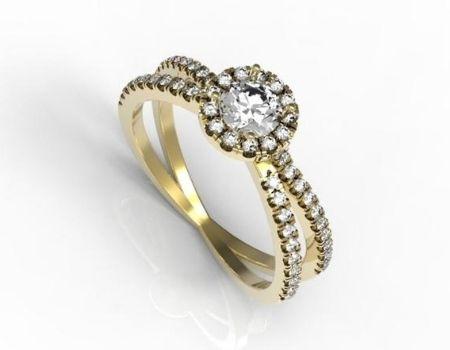 טבעות זהב מעוצבות מאייב תכשיטים חנות תכשיטים