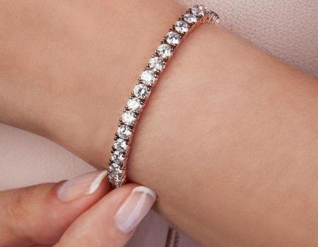 צמיד טניס יהלומים מאייב תכשיטים חנות תכשיטים