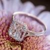 <h3>טבעת אירוסין יהלום מרובע</h3>