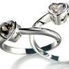 <h3>טבעת אירוסין לב</h3>